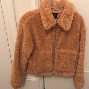 Women's Fleece/furry jacket size XS